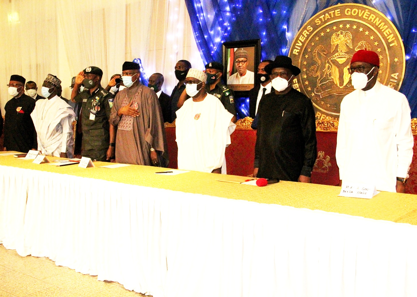South-South leaders meeting with Presidential delegation in Port-Harcourt