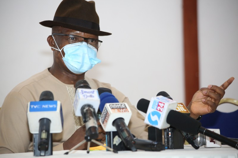 Delta Commissioner for Information, Mr. Charles Aniagwu,